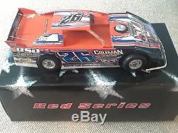 124 Dirt Late Model ADC Red Series Tony Knowles Diecast Car