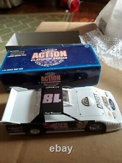 1995 #18 scott Bloomquist Action 124 Scale Dirt Late Model RARE 1 of 5004