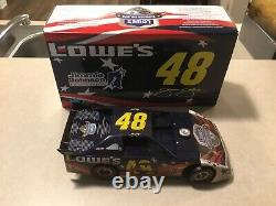 1/24 ADC #48 2011 Jimmie Johnson Lowes Summer Salute Raced Dirt Late Model