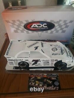 1/24 Jesse glenz ADC DIRT LATE MODEL DIECAST DIRT RACE CAR DIRT RACING RED