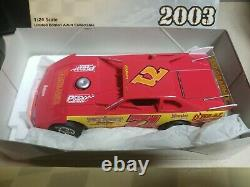 2003 1/24 Don ONeal ADC Dirt Late Model Die Cast BRAND NEW IN BOX