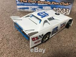 2004 ADC 1/24 Dirt Late Model #15 Jeff Purvis Fan Club Car Rare