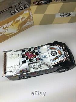 2004 Chub Frank #1 ADC 124 Scale Dirt Late Model RARE 1 Of 1,008 D204M287
