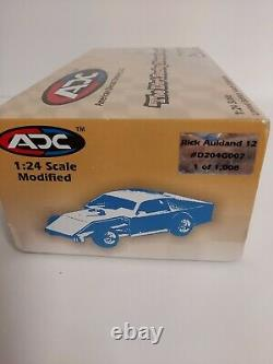2004 Rick Aukland #12 124 Scale Action Dirt Late Model Diecast Car 1 of 1008