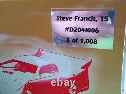 2004 Steve Francis#15 Mopar Valvoline Dodge ADC Dirt Late Model 1/24 scale
