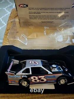 2005ish Scott James#83 ADC 124 Scale Dirt Late Model RARE 1 of 650