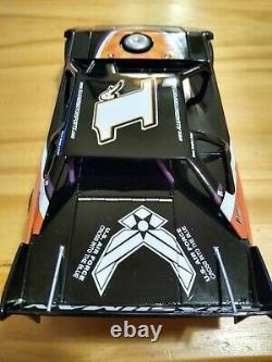 2006 Justin Allgaier#1a US Air Force Dirt Late Model 1/24 scale Limited Edition