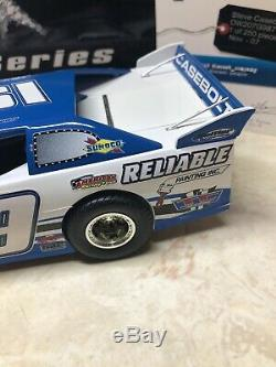 2007 Adc 124 Scale Dirt Late Model Diecast Steve Casebolt #19 Rare White Series