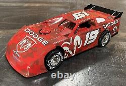 2007 Charger Late Model Dirt ELLIOTT SADLER #19 DODGE Prelude Car 1/24