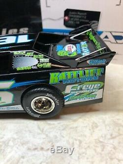 2008 ADC Justin Rattliff 124 Scale Dirt Late Model RARE 1 Of 250 DW208M112