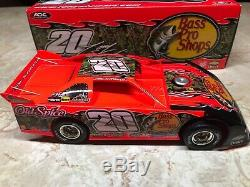 2008 ADC Tony Stewart #20 124 Scale Dirt Late Model RARE Bass Pro Old Spice