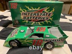 2008 Kyle Busch Autographed #18 Dirt Late Model. Interstate Batteries 1/24