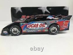 2008 Lucas Oil Late Model Dirt Series #1 124 SCALE ADC RED DE208I160B
