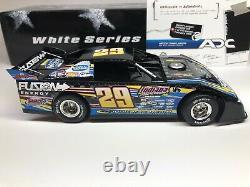 2009 ADC 124 SCALE DIRT LATE MODEL Darrell Lanigan #29 Fusion RARE 1/250 White