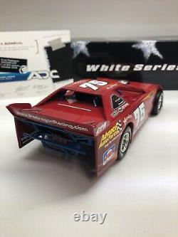 2009 Cruz Pedregon #75 ADC 124 SCALE DIRT LATE MODEL Advance Auto White 1/250