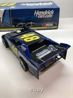 2009 Jimmie Johnson 48 ADC 124 SCALE DIRT LATE MODEL RARE 1/1028 Lowes Hendrick