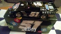 2009 Kyle Busch Autographed #51 M & M's Dirt Track Late Model 1/24