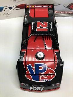 2010 Bill Elliott #21 ADC 124 SCALE DIRT LATE MODEL White 1/250 VP Racing Fuels