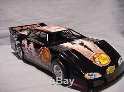 2011 Tony Stewart Serial # 0006 Bass Pro Shops Dirt Late Model Car 124 Diecast
