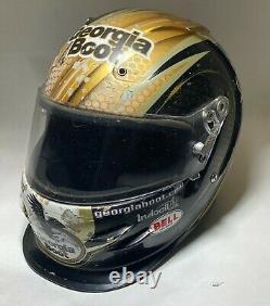 2014 Steve Francis Clint Bowyer Racing Dirt Late Model racing helmet