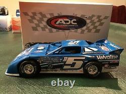 2015 ADC 1/24 DIRT LATE MODEL Signed #B5 Brandon Sheppard Family Owned Rocket