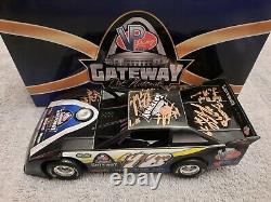 2018 Gateway Dirt Late Nationals 1/24 Late Model Signed By 10 Drivers
