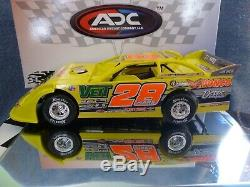 2020 ADC Jimmy Mars #28 1/24 Dirt Late Model Car 1 of 250