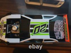 2020 ADC Jimmy Owens #20 Champion Dirt Late Model Diecast Car 1/24 scale