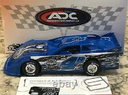 2021 ADC Jackie Boggs Memorial #B4 Dirt Late Model Diecast 1/24 1 of 450