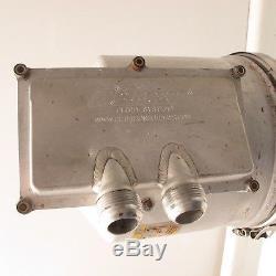 3 Gallon Peterson Aluminum Dry Sump Oil Tank Filter Dirt Late Model Brackets #4