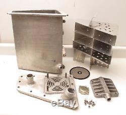 3 Gallon Wedge Aluminum Dry Sump Oil Tank OBERG Filter Dirt Late Model #10