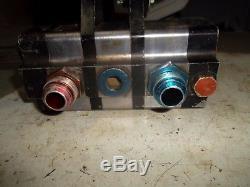 3 stage dry sump pump ump imca dirt late model oil asa arca drag racing