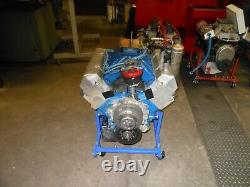 410 cubic inch Ford super dirt late model engine