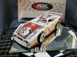 #44 Bobby Labonte Foundation 2012 ADC DIRT LATE MODEL 1/24 Rare! Autographed