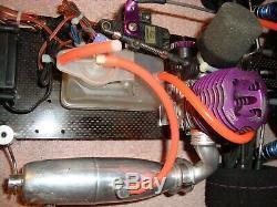 #4 Dirt Oval Custom Works Nitro Intimidator-late Model (artr)