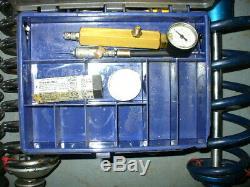 6 Ohlins Late Model Dirt Adjustable Gas Shocks + 2 Afco oil Shocks