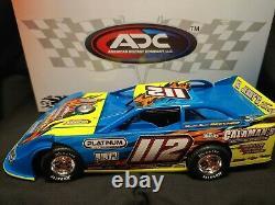 ADC 1/24 Brandon Little #112 2020 Dirt Late Model Diecast DR220M262