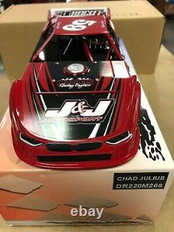 ADC 2020 Chad Julius #59 Dirt Late Model Diecast 1/24 scale DR220M268 RED