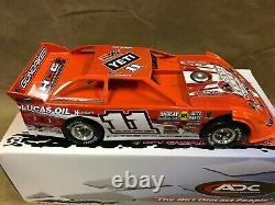 ADC 2020 Gordy Gundaker #11 1/24 Dirt Late Model Diecast Car DW220C230