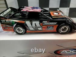 ADC 2020 Tyler Horst #14 Dirt Late Model 124 Scale DR220M257 Red series