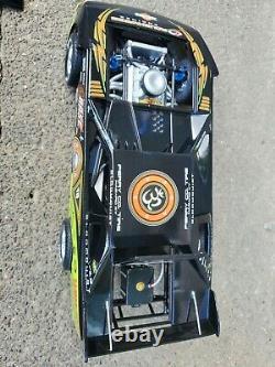 ADC Scott Bloomquist #18 Rare Late Model Dirt Track Race Car 124 Scale Diecast