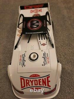 Adc 2020 Chris Madden 1/24 Dirt Late Model Diecast Autographed