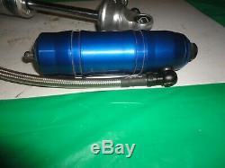 Afco silver series canister shocks dirt late model rocket wissota racing integra