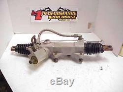 Appleton 3.4 Ratio Power Steering Rack UMP Dirt Late Model Ratrod Mudbog JR1