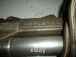 Appleton steering rack 18 1/4 ump imca dirt late model asa arca sweet woodward
