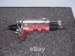 BRT 3.4 Ratio Power Steering Rack UMP Dirt Late Model 19-1/4 Sweet Appleton