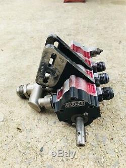Barnes 4 Stage Dry Sump Pump Dirt Late Model Imca Race Car