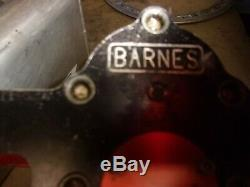 Barnes 4 stage dry sump oil pump BBC dirt modified race car late model hot rod