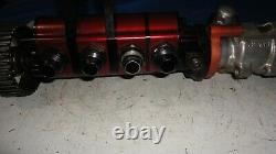 Barnes 4 stage dry sump pump and power steering ump imca wissota dirt late model