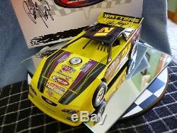 Billy Moyer #21 1/24 2014 Dirt Late Model ADC Autographed Car/ And Box